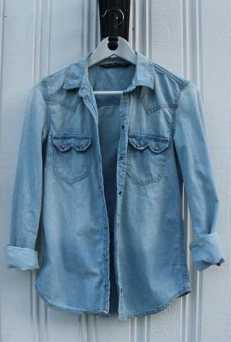 4d9aeba1 Olaskjorte fra Zara - Bloppis