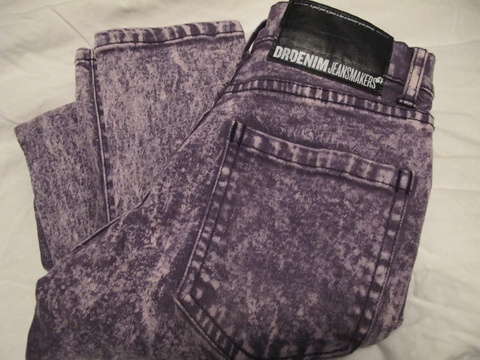 Steinvasket jeans