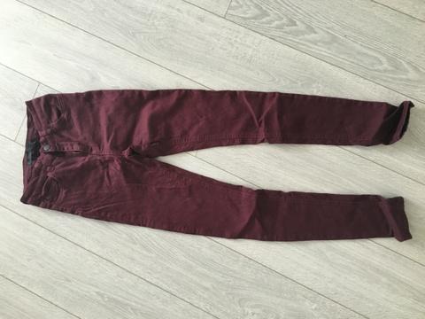 18c8f0cb Vinrød bukse - Bloppis