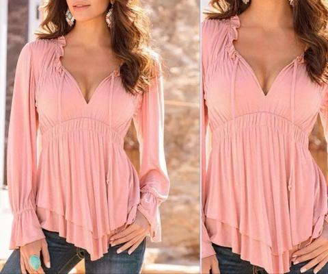 c1a3ccb83 Pen rosa bluse