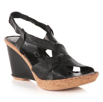 a818710b Svarte sandaler m kilehæl str 38 - Bloppis