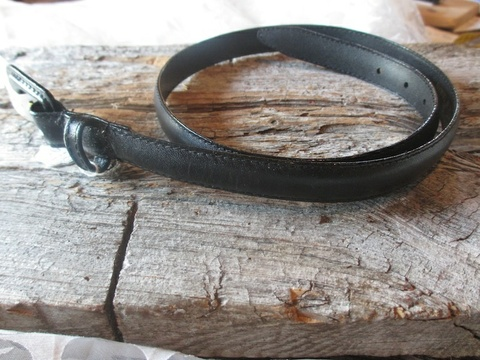 99ff3a9b Find every shop in the world selling vintage belte i sort skinn med ...