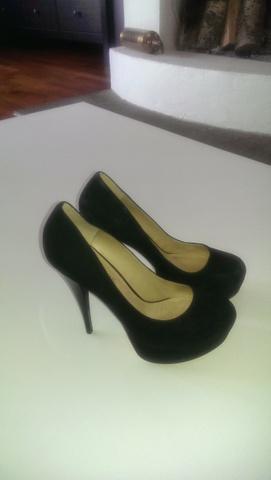 80a9147c Aldo - svarte høyhælte sko - Bloppis