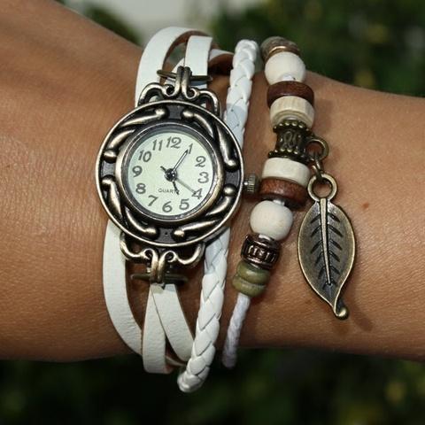 klokke armbånd