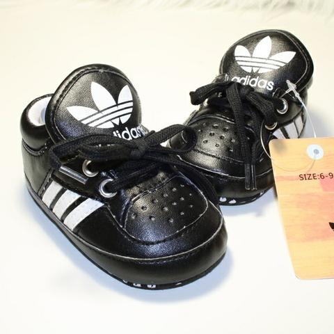 7b45519e sko sko sko såle helt adidas 9 mnd str og og Tøffe 6 BABY myk svarte  1xqRUwXEX