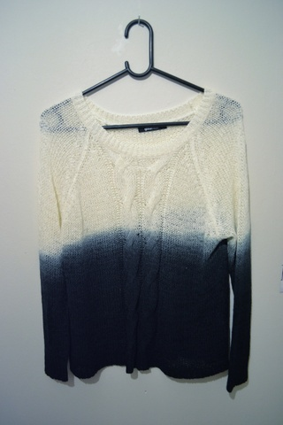e98689a8 Ombre genser fra Gina Tricot - Bloppis