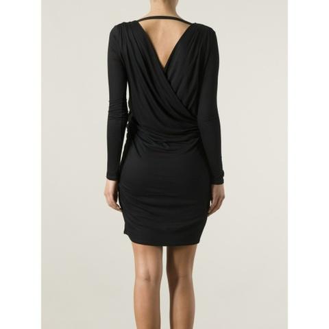 Helmut Lang kjole måpen rygg