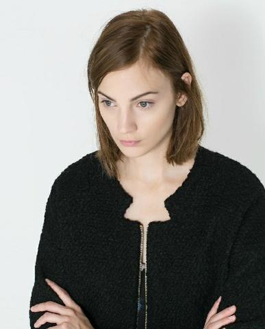 Zara inspirert kåpe, coat. Ubrukt. Medium Bloppis