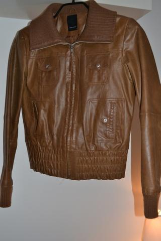 bb681f23 Brun skinnjakke fra Vero Moda - Bloppis