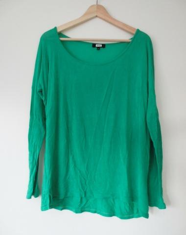 05125dec Grønn genser fra Bik bok - Bloppis