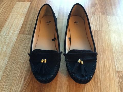 Svarte sko fra HM. Str 38