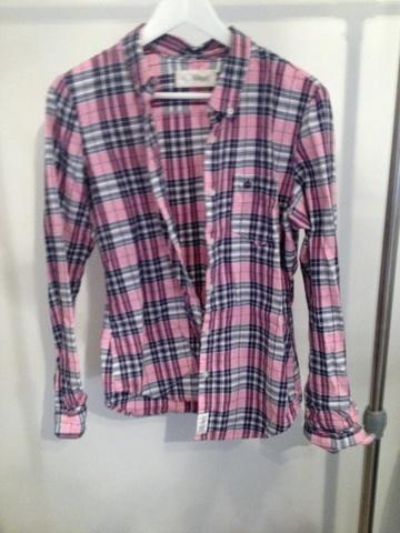 Rutet skjorte Lys rosaRutet DAME | H&M NO