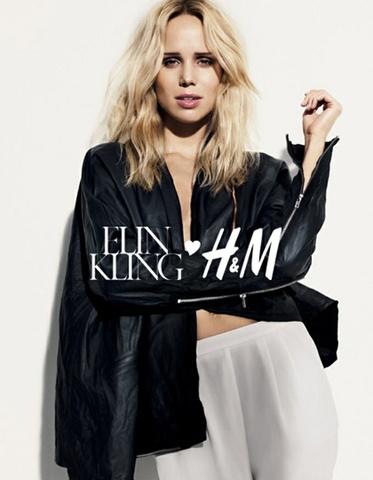 Elin Kling for H&M skinnjakke