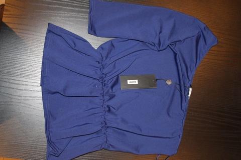 ada0415e Bikbok blå topp ** Ny - Bloppis