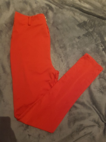 a85fc5ee Rød bukse ** Ny - Bloppis